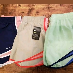 3 Pairs of Nike Shorts with liner